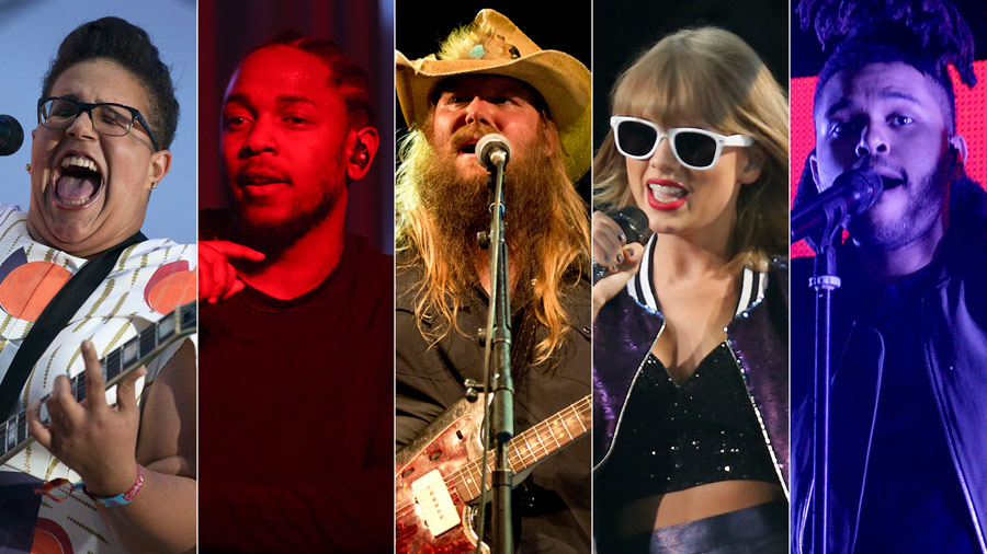 Grammys 2016: Play-at-home ballot
